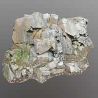 3d scanned cliff face E