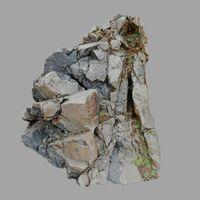 3d scanned cliff face I