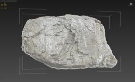3d scanned cliff face J