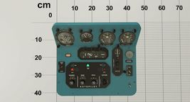 Mi-8MT Mi-17MT Central Panels Board English