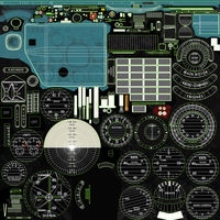 Mi-8MT Mi-17MT Left Panels Board English