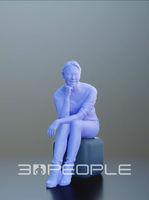 3D People 10005 Bao