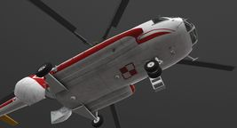 Mi-8T Poland Air Force Animated