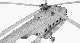 Mi-8AMT Russian Police Animated