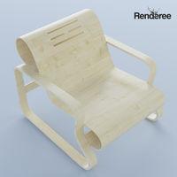 Bent Plywood Armchair