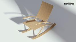 Rocking Wooden Chair
