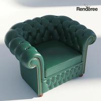 Chesterfiled Armchair