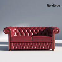 Chesterfield Set Red