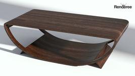 Dark Wooden Table
