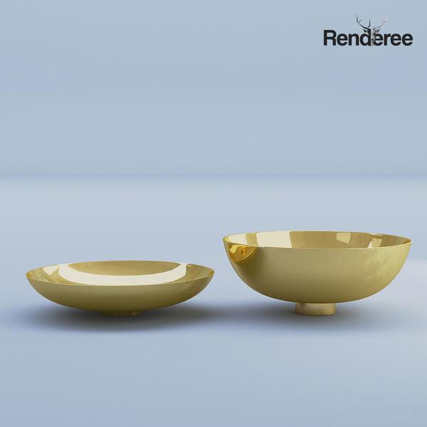 Gold Bowls Metal