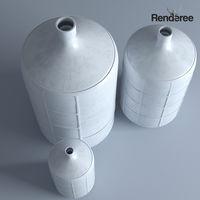Big Clay Vases Set