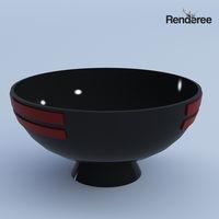 Ceramic Black Decor Set