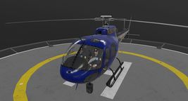 AS-350 Miami City Police Animated