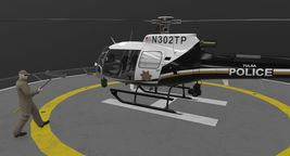 AS-350 Tulsa Police Animated