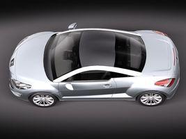 Peugeot RCZ 2011 lowpoly 2735_4.jpg