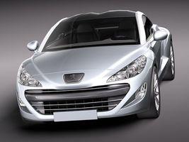 Peugeot RCZ 2011 lowpoly 2735_2.jpg