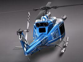 Police Bell 412 Surveillance Copter 3488_5.jpg
