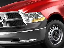 dodge ram 2009 regular cab 3615_3.jpg