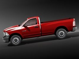 dodge ram 2009 regular cab 3615_7.jpg