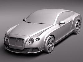 Bentley Continental GT 2012 midpoly 3655_7.jpg