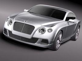 Bentley Continental GT 2012 midpoly 3655_4.jpg