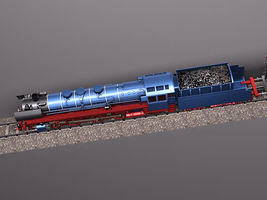 Steam Train Express F series BR 03 10 1950 3799_5.jpg