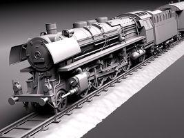 Steam Train Express F series BR 03 10 1950 3799_8.jpg