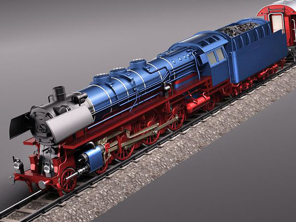 Steam Train Express F series BR 03 10 1950 3799_1.jpg