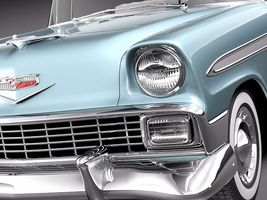 Chevrolet Bel Air 1956 Convertible 3868_3.jpg