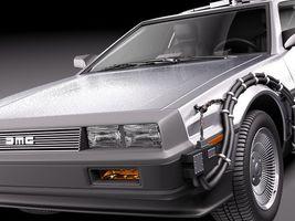 DeLorean DMC 12 Back To The Future 3919_3.jpg