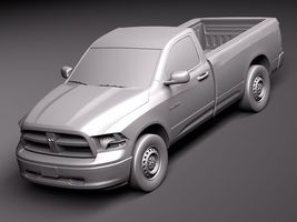 Dodge Ram 2011 regular cab midpoly 4034_9.jpg
