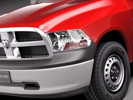 Dodge Ram 2011 regular cab midpoly 4034_3.jpg