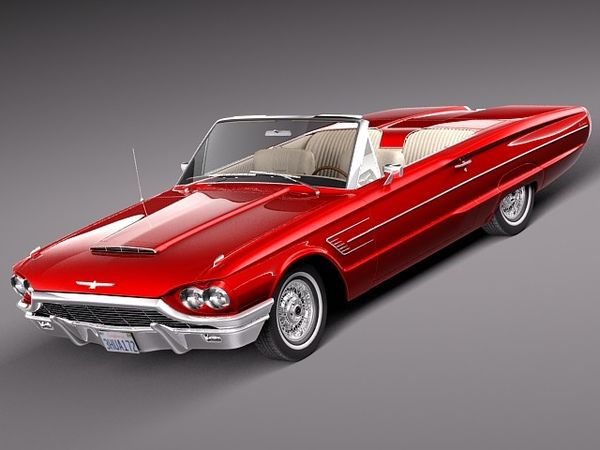 Ford Thunderbird Convertible 1965 4265_1.jpg