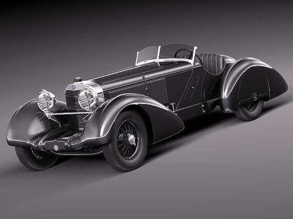 Mercedes Benz 710 SSK Trossi Roadster 1930 4271_1.jpg