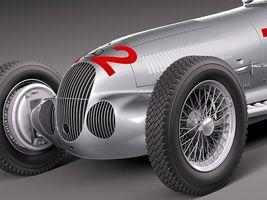 Mercedes Benz W125 Grand Prix Race Car 4306_3.jpg