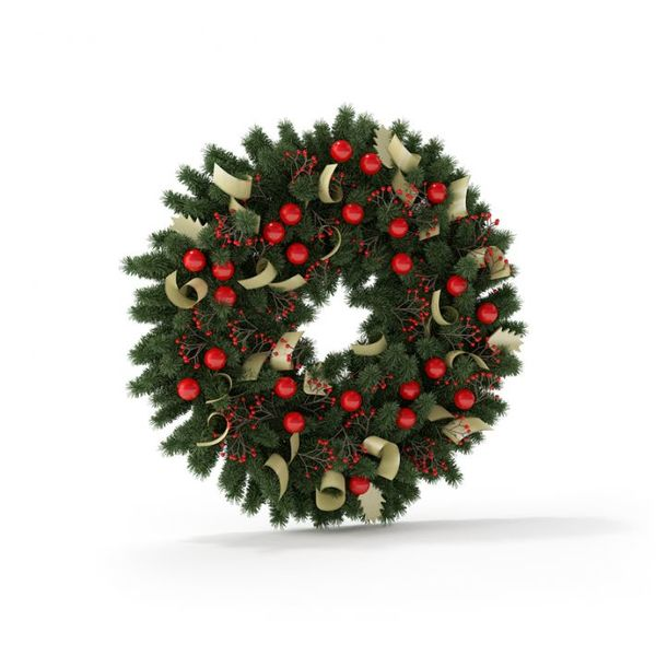 Christmas wreath 10 AM88 image 0